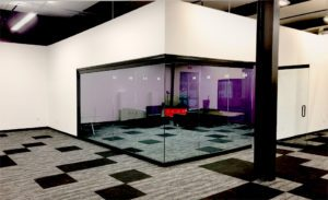 Glass wall corner conference room - nice picture
