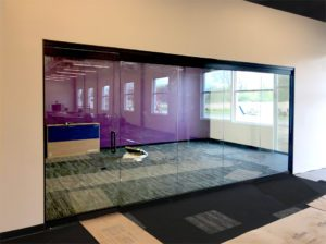 interior wall glass - conference room