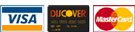 Credit Cards - MC, Discover, Visa