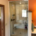 Custom steam shower!