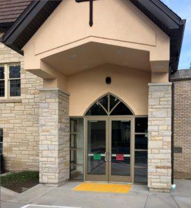 Church entryway (Edgerton, WI)