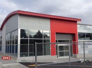 Madison Area glass installing Kawneer doors and windows