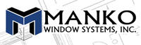 Manko Window Systems architectural logo, our trade partner