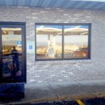Commercial windows with solar and security properties