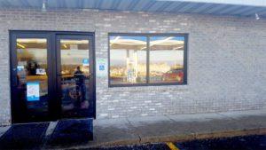 Mini mart safety windows exterior - reflective properties