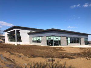 MSA office building Kawneer glass