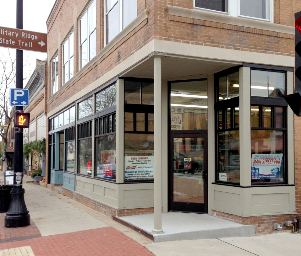 Pictures commercial window replacement new installation for Aluminum storefront windows