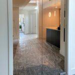 glass doorway (Parade of homes, Waunakee)