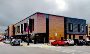 Platteville Public Library window project overview