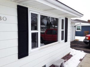 We can replace just the glass in your windows as shown in this home in Madison, WI