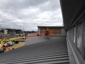 Special Application Commercial building window install