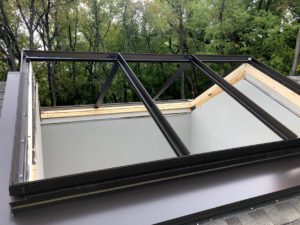 skylight framing complete, just need the glass
