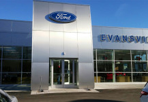 New construction windows & doors: Ford dealership