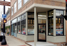 All new Kawneer thermal barrier storefront windows