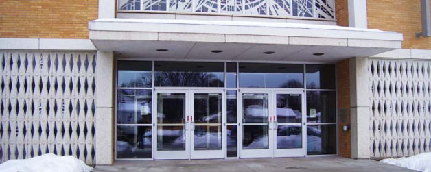 St. Mary's – Glass Door Entryway