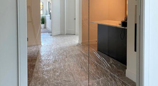 Glass Doorway