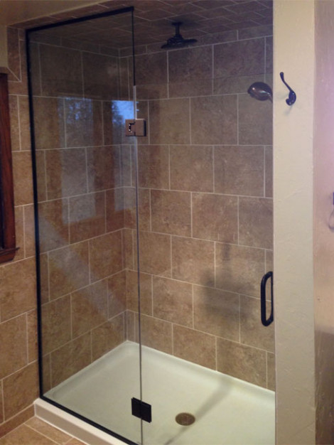 Custom glass shower doors Oregon, Wisconsin