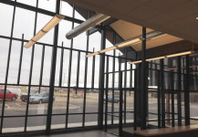 Curtain Wall – unique structure