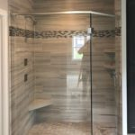 Parade of Homes custom angled shower